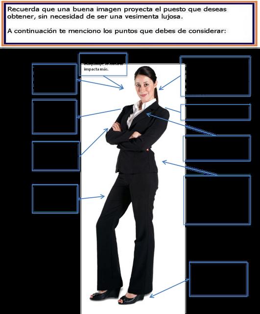 51d44730a7e Cómo debe de vestir una mujer en una entrevista de trabajo. | La ...