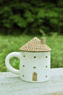 森の種陶工所 ペーパードールハウス 粘土の家 家
