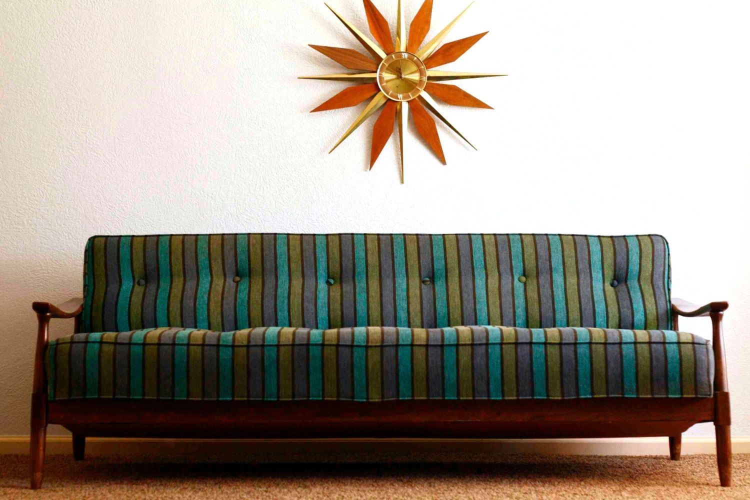 This vintage couch is so awesome mid century modern couch 1950s house couches