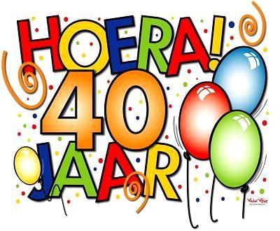 40 Jaar Vrouw Verjaardag