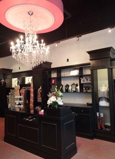boutique cash wrap (final project) reception area Pinterest