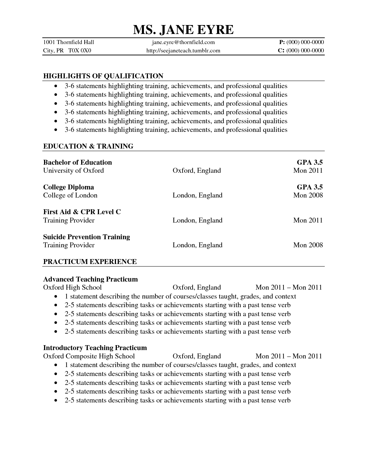 Cv Template Volunteer Work CustoVolunteer Work On Resume Application ...