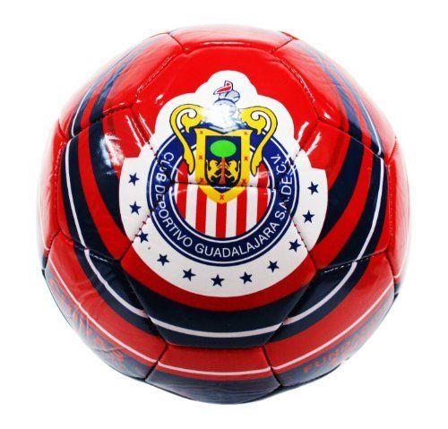 37dfa6b1b2e4 Chivas de Guadalajara Soccer Ball-Home (Silver, 5) by Rhinox. $19.99.  Officially Licensed. Made of Non-Toxic PVC. Size 5. Chivas de Guadalajara  Silver #5 ...