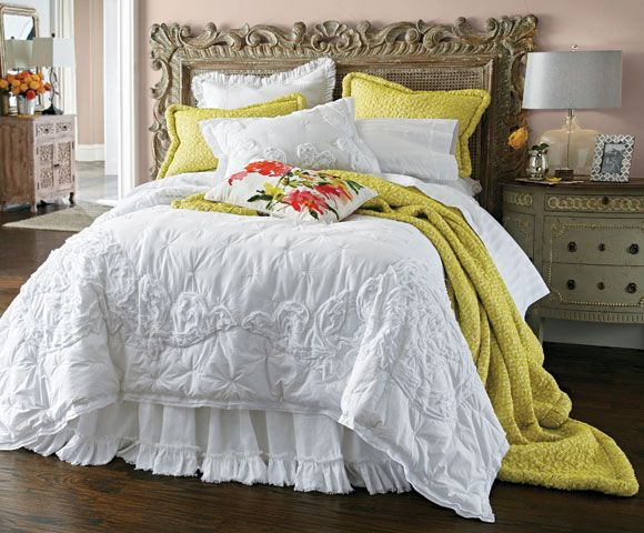 Blanc Vigne Bedding Collection Soft Surroundings Decorate