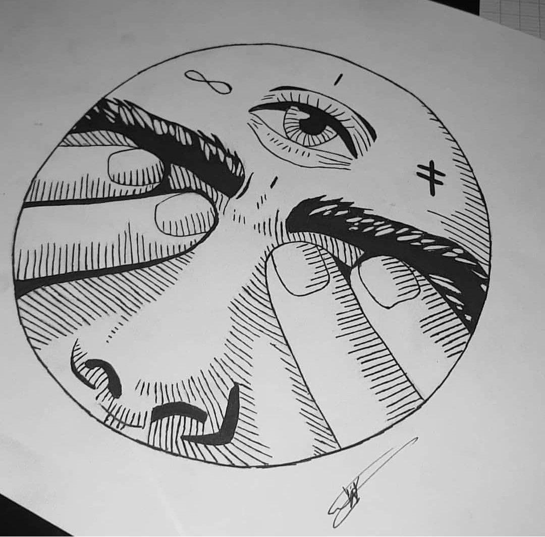Damaged In 2020 Line Art Drawings Spiritual Drawings Easy Drawings