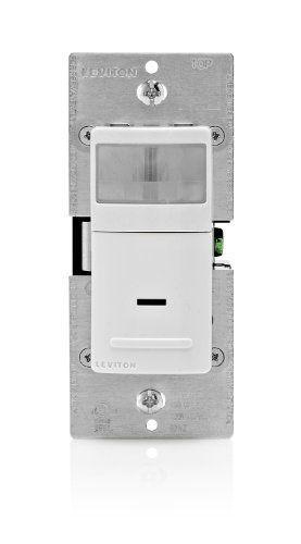 Leviton Ipv15 1lz 1800 Watt Incandescent Relay Vacancy Sensor Single Pole Or 3 Way By Leviton 31 49 Lev Leviton Motion Sensor Lights Outdoor Motion Sensing