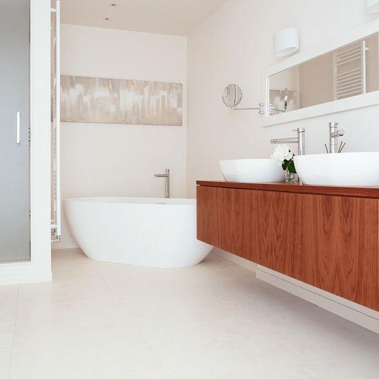 Holz Unterschrank Waschbecken Waschschrank Badewanne