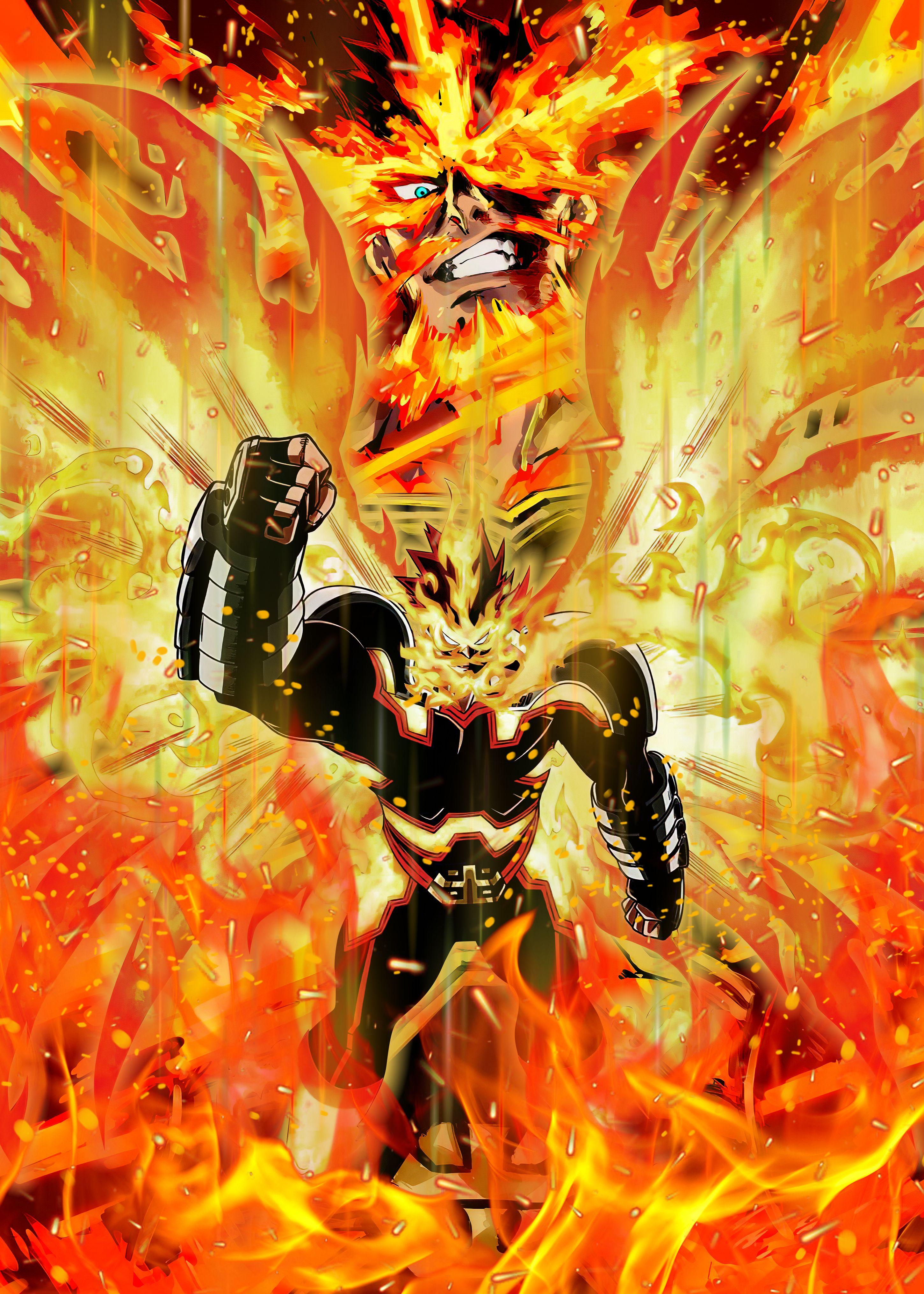 Hd endeavor boku no hero academia anime wallpaper description. My Hero Academia (Endeavor) Metal Poster | Hero, Hero ...