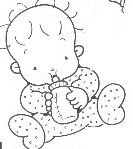 Pin De Igjjv En Bordado Bebe Para Pintar Bebe Clipart Dibujos