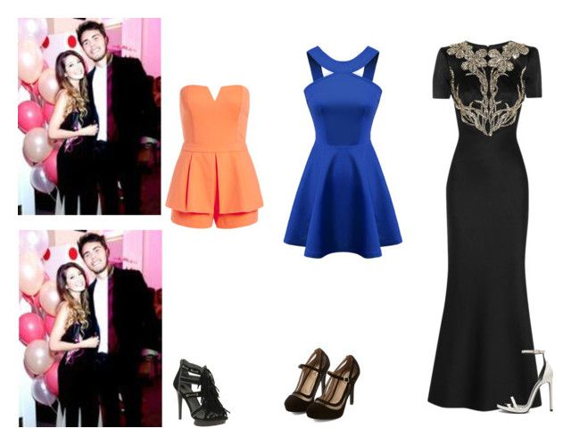 """""""Event with Zalfie"""" by candyheart46 ❤ liked on Polyvore featuring ASOS, Alexander McQueen and Yves Saint Laurent"""