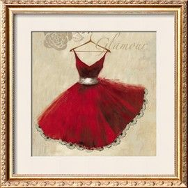 Red dresses make my heart happy!