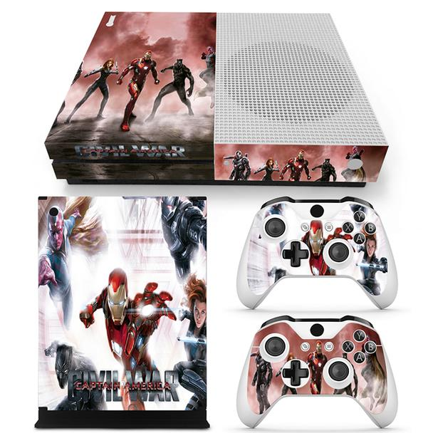 Marvel Captain America Civil War Superheroes Xbox One S