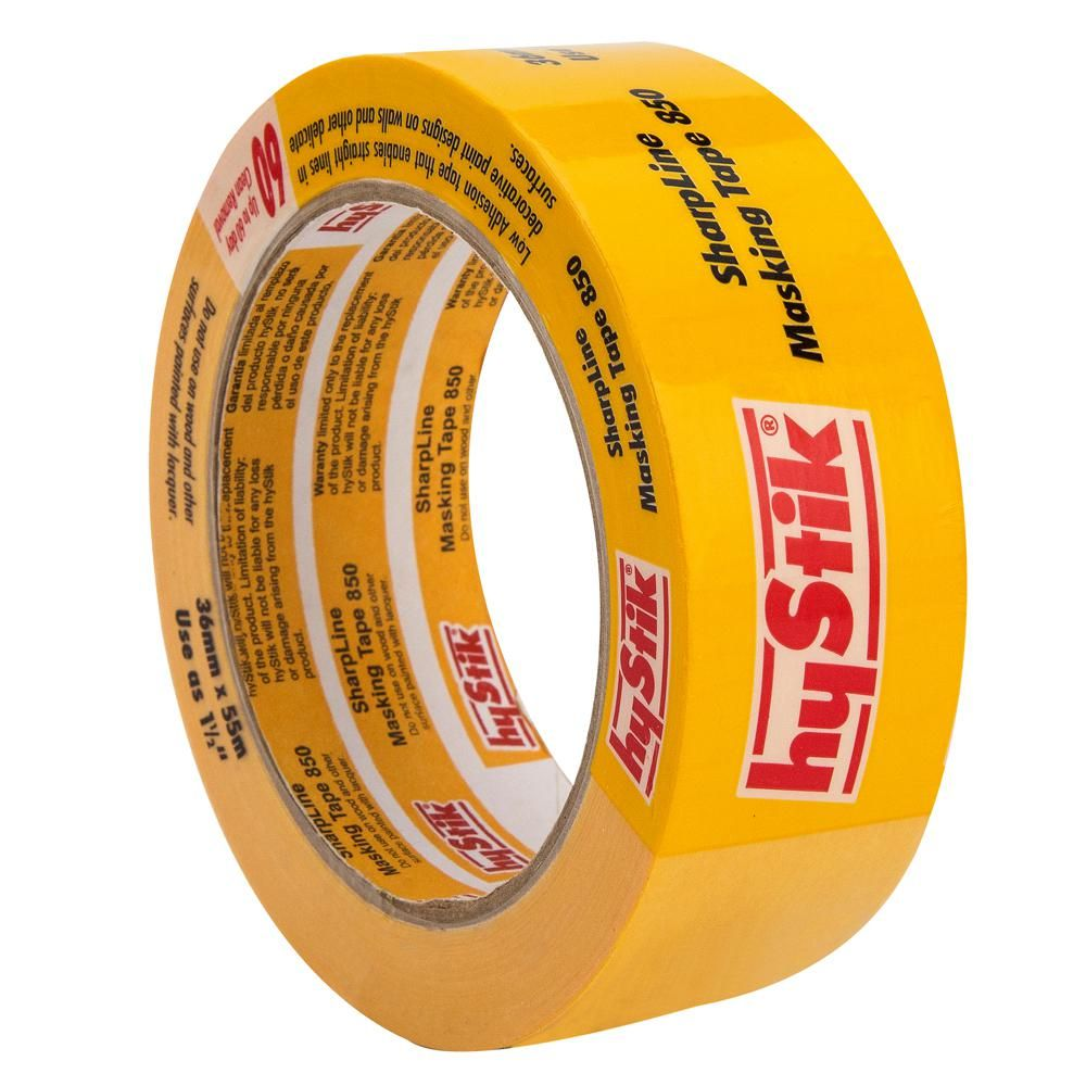 Hystik 1 5 In X 60 Yds Painter S Tape For Delicate Surfaces 850 1 5 The Home Depot In 2021 Painters Tape Paint Supplies Masking Tape