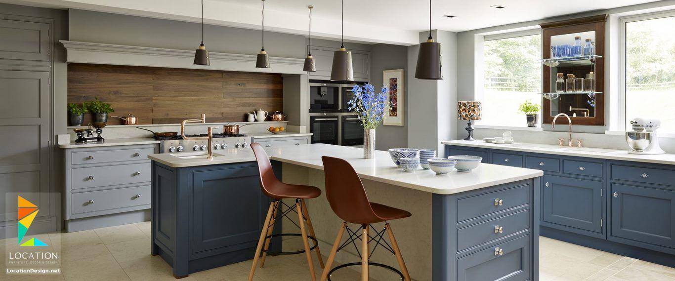 افضل انواع المطابخ بالصور لوكشين ديزين نت Open Plan Kitchen Dining Living Kitchen Design Open Plan Kitchen Dining