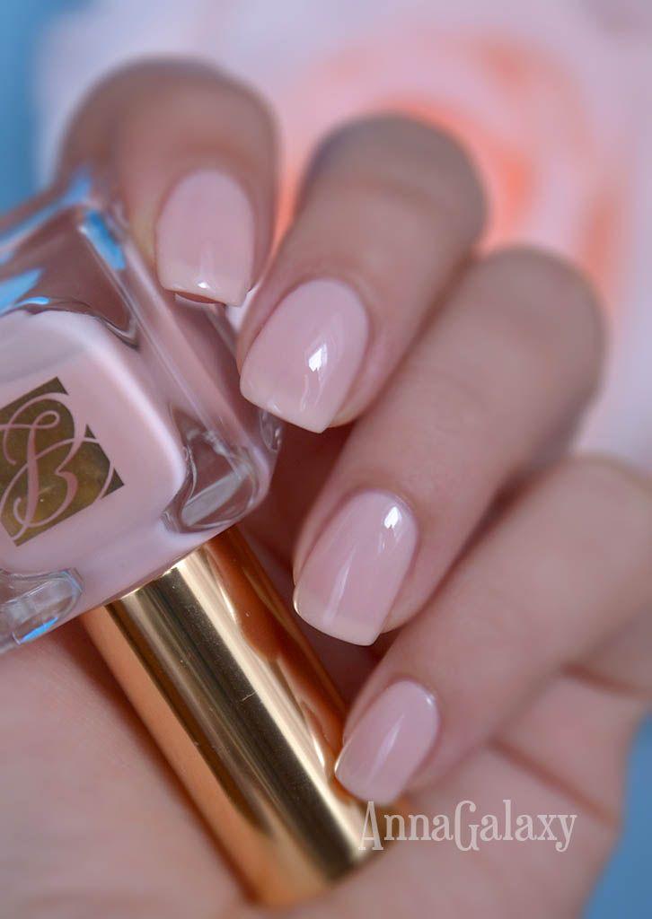 Anna Galaxy: Estee Lauder Nail Lacquer Ballerina Pink | Cosmetics ...