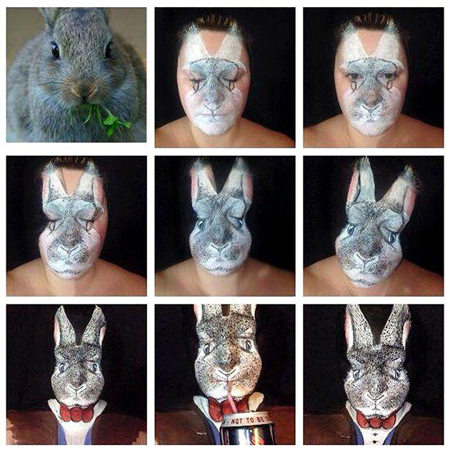 Bunny-transformation by Maria Malone