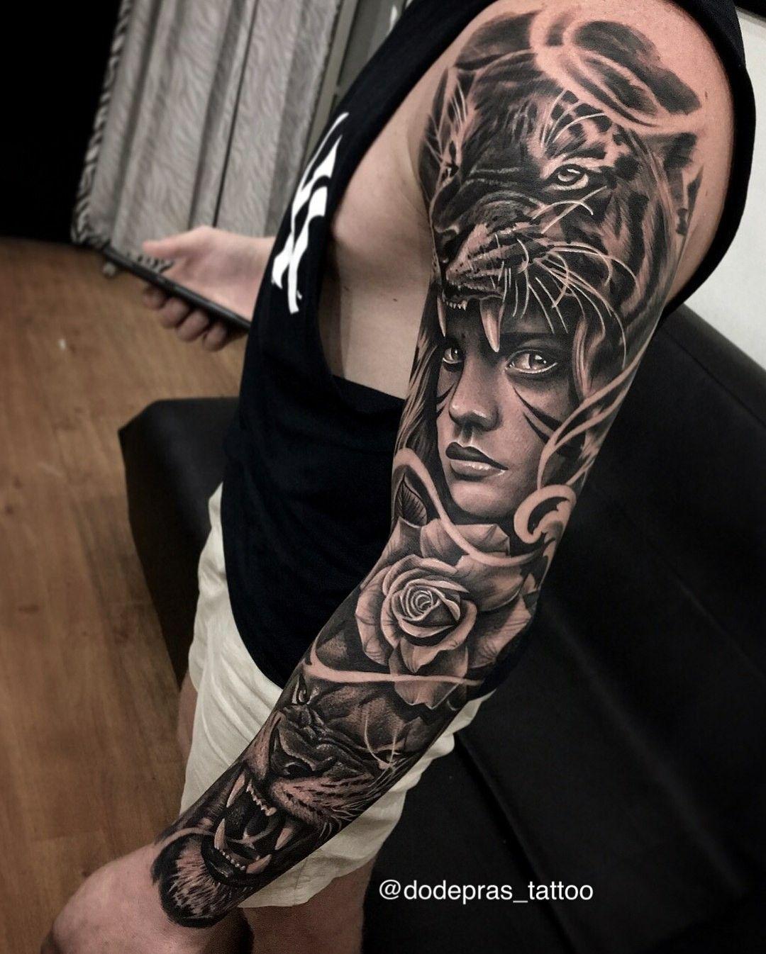 Pin By Dinaluz On Screenshots Sleeve Tattoos Tattoo Sleeve Designs Animal Sleeve Tattoo