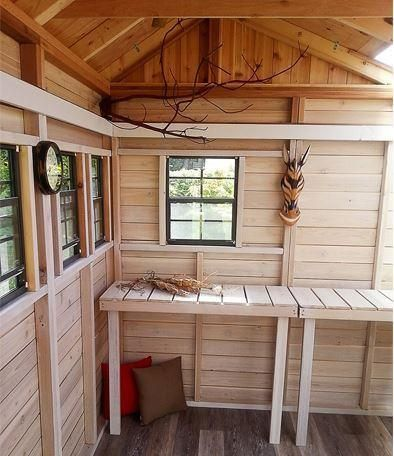 Charmant Outdoor Living Today   8 X 8 Sunshed Garden Shed With Dutch Door