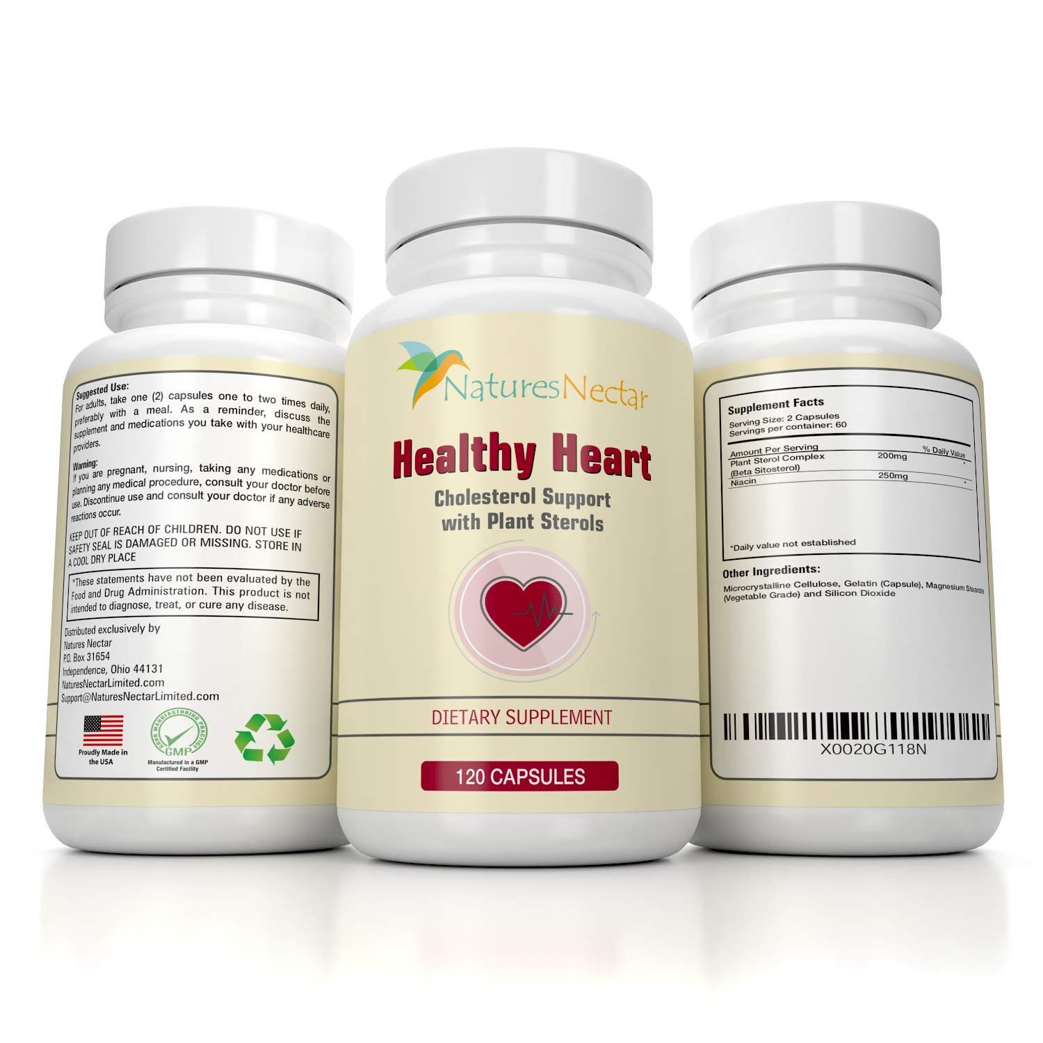 Healthy Heart Cholesterol Lowering Supplements With Plant
