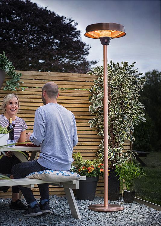 Outdoor Heaters Patio, Outdoor Halogen Heat Lamp