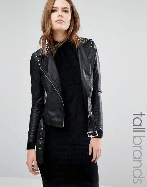 Veste simili cuir femme vero moda