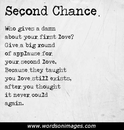 Love Quotes Collections 30 Pics Chance Quotes Fiance Quotes Second Love Quotes