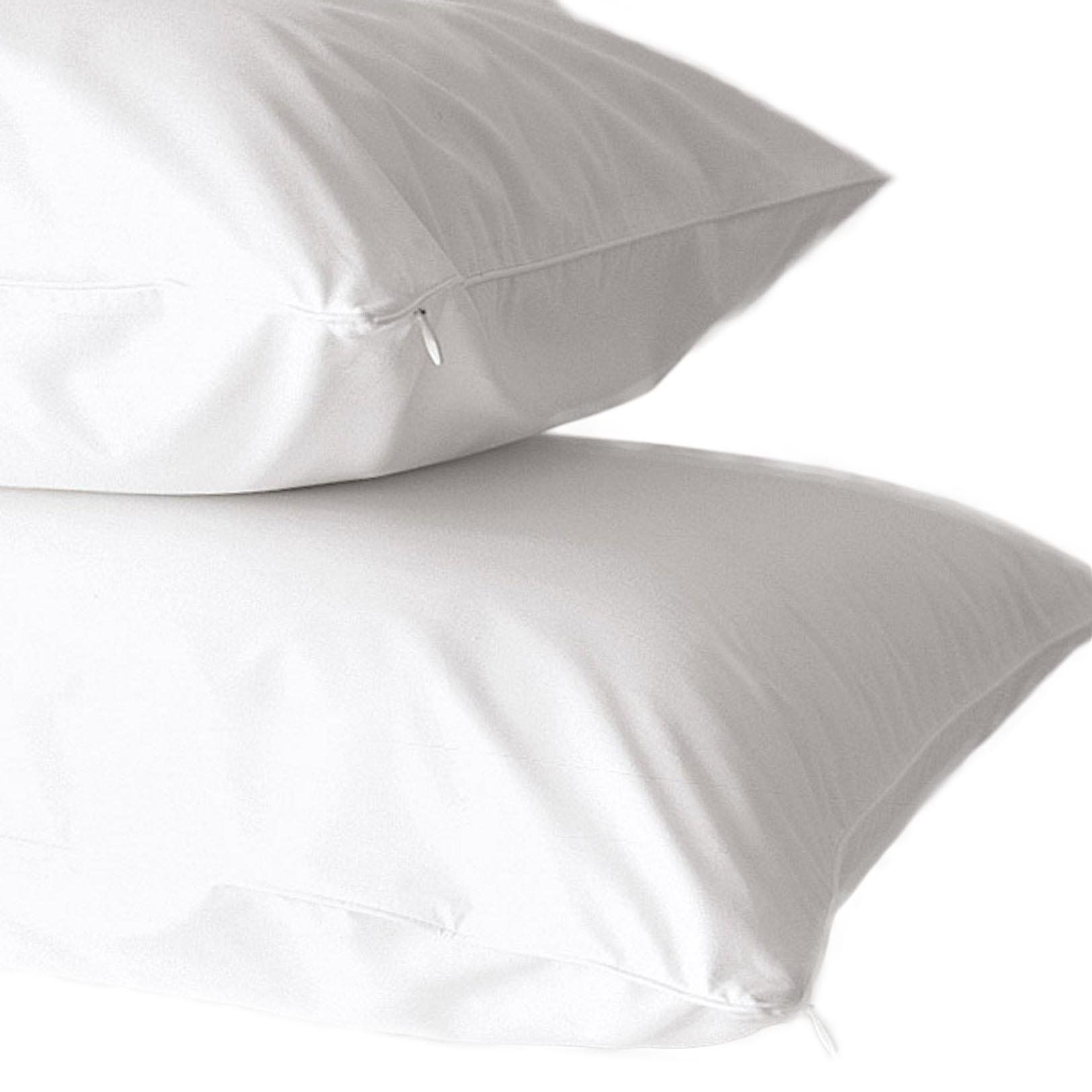 Bed Bug Pillow Cover Amazing 2Pack 400 Thread Count 100% Cotton Allergy Pillow Protectors Design Inspiration