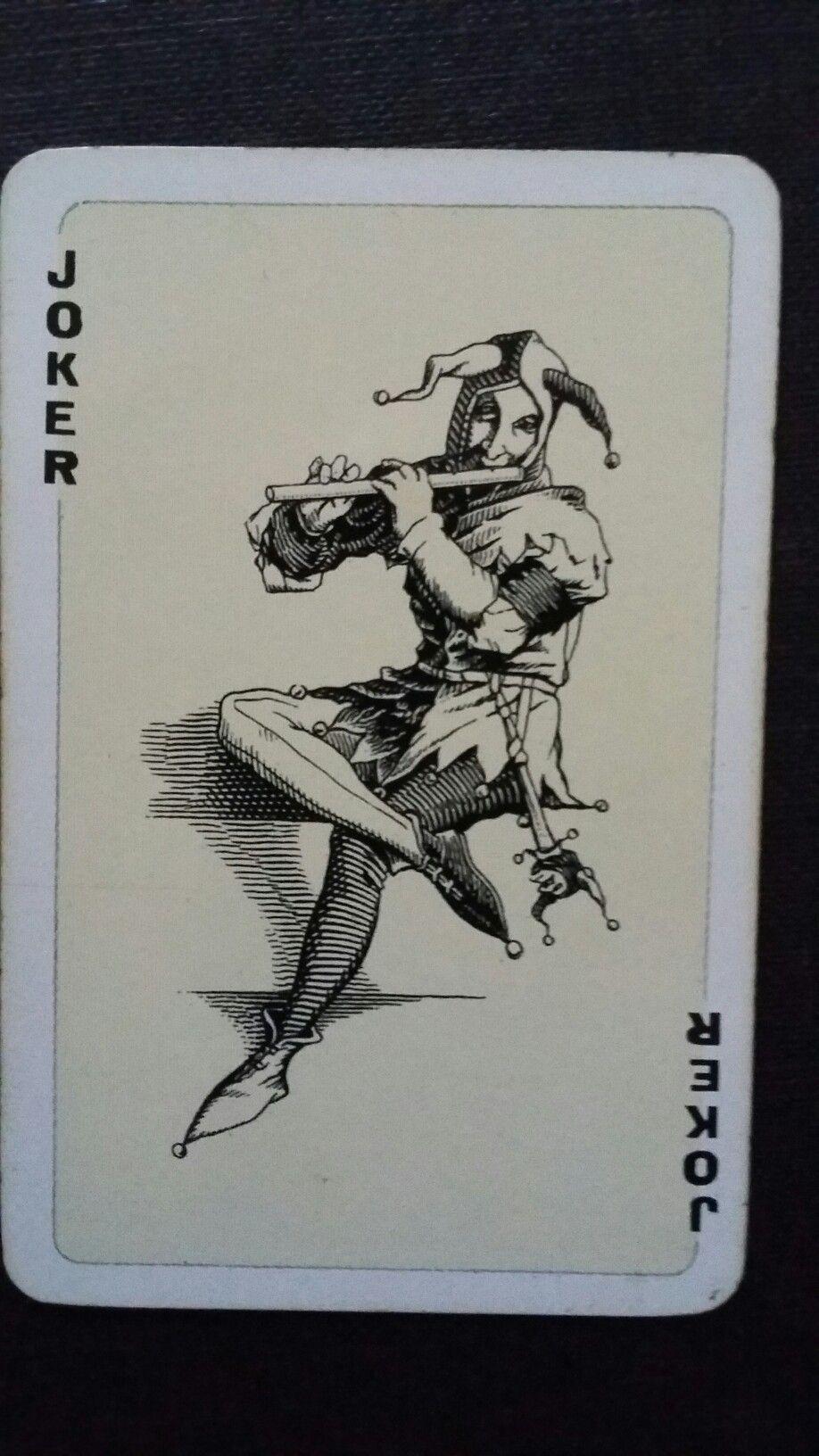 Joker Swiss Margeurite Deck Joker Card Joker Playing Card Cards