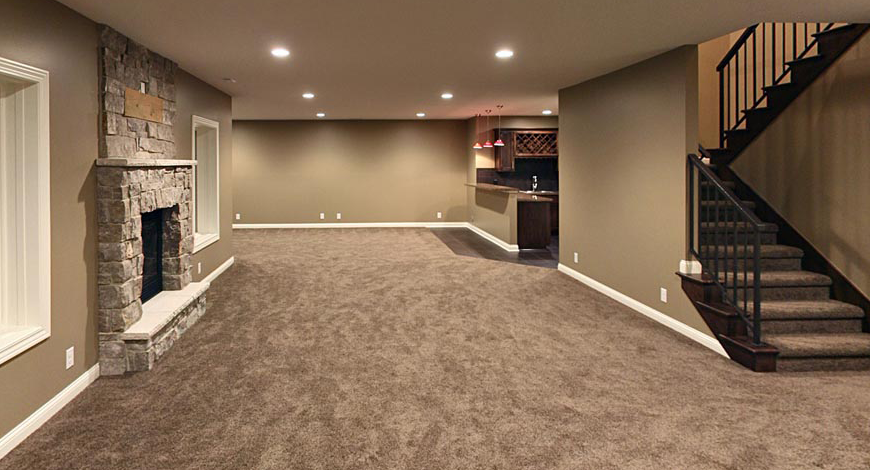 Open Basement Basement Makeover Cheap Basement Ideas Basement Design