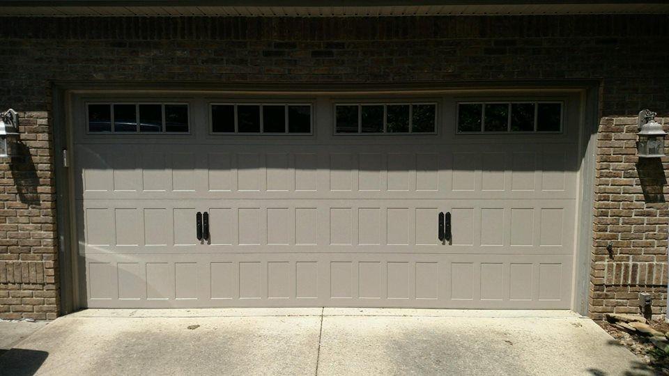 16 X 7 2518 Chi Overhead Doors Shaker Panel Sandstone Insulated Plain Glass Madison Window Insert Give Us A Ca Overhead Door Doors Garage Door Makeover