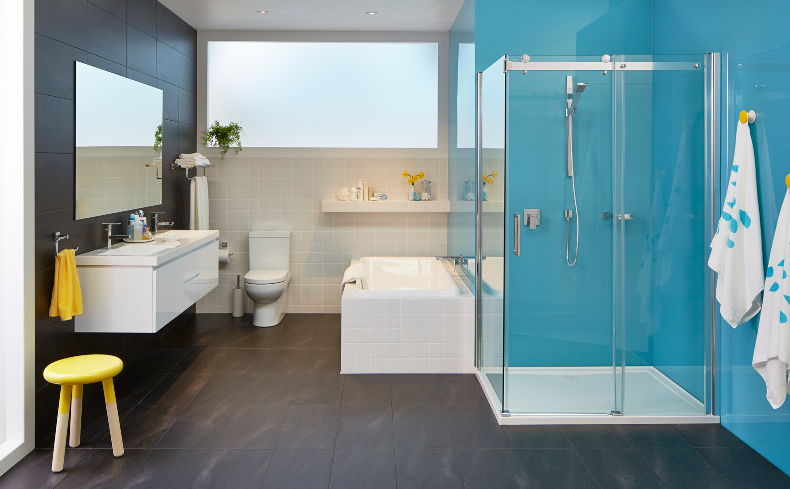 Bathroom inspiration gallery bunnings colour blue floor tiles bathroom inspiration gallery bunnings colour blue floor tiles dailygadgetfo Gallery