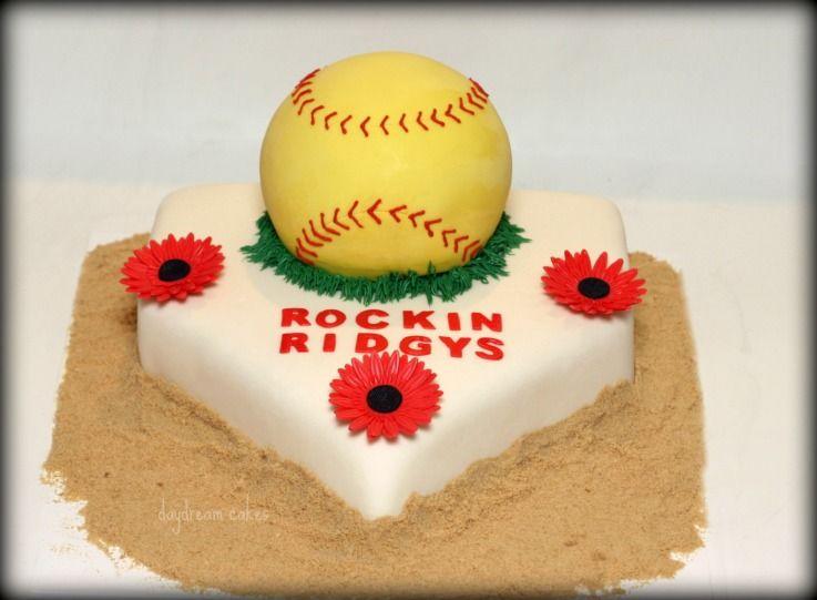 Pin by Jill Wilt on Stuff | Softball birthday cakes, Birthday cake