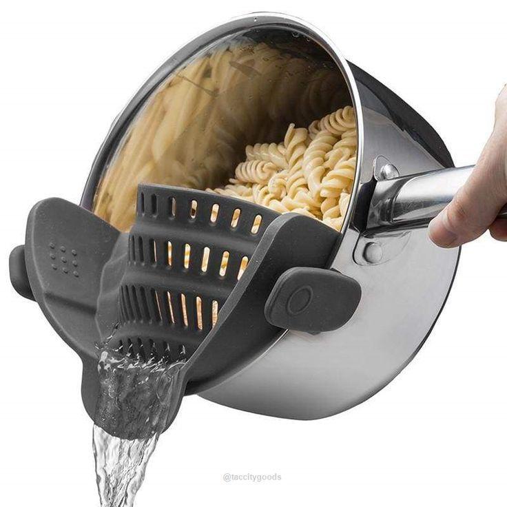 Silicone Colander Kitchen Accessories