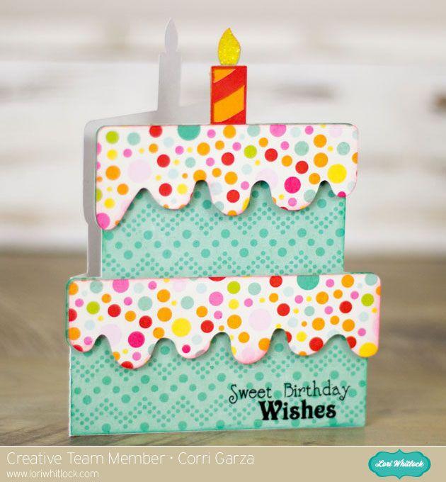 Birthday Card With Corri New Cut File Lori Bearden Bearden Bearden