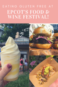 Best gluten free options at epcot