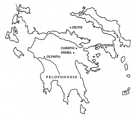 Image result for blank map of ancient greece for kids