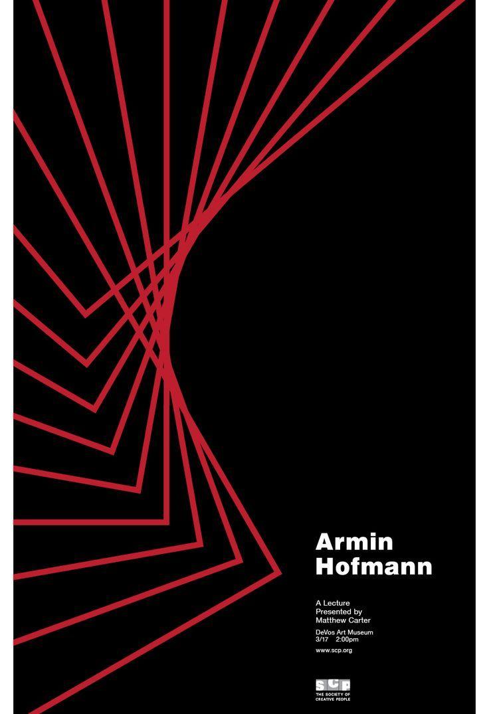 Armin hofmann armin typo and typo poster for Armin hofmann