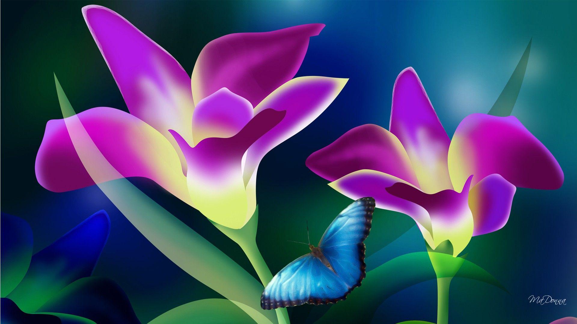 Tropical Flowers Wallpaper 1920x1080 42569
