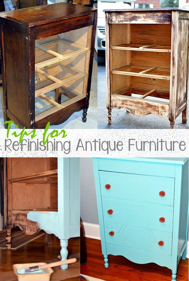 tips for refinishing old furniture - Tips For Refinishing Old Furniture DIYS... DIY Ideas