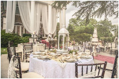 Secret Garden Wedding Reception Inspiration