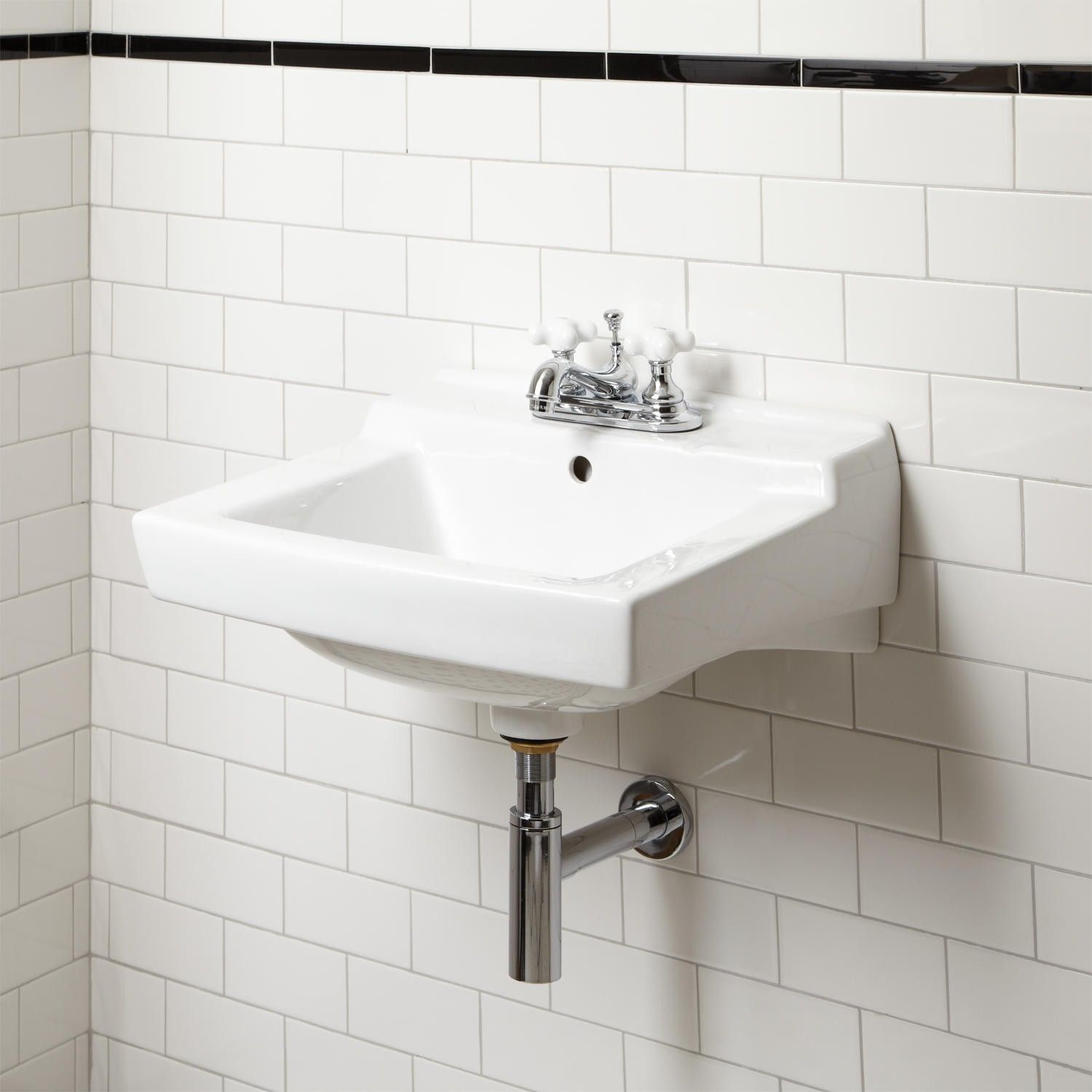 Griffith Wall Mount Bathroom Sink   Wall Mount Sinks   Bathroom Sinks    Bathroom