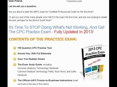 pass the aapc cpc exam on your first try with the best online cpc rh pinterest ca Certified Professional Coder AAPC Certification