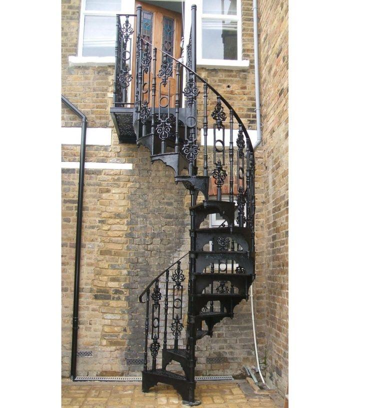 Best Cast Iron Spiral Stairs And Catwalks Loft Centre 400 x 300