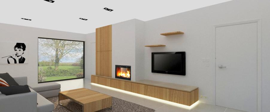 3d ontwerp sierschouwen en tv wanden verbouwen for 3d woonkamer maken