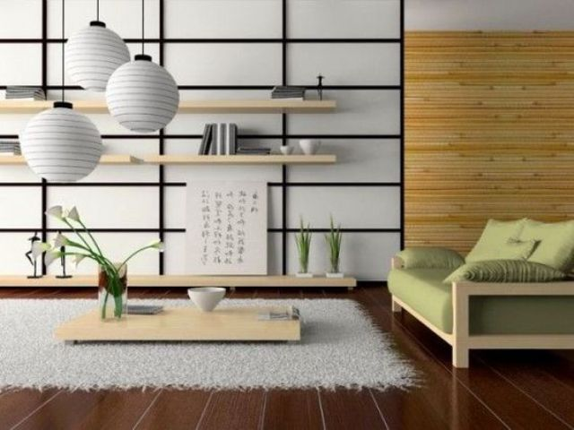 Modern Japanese Style Living Room Ideas Ide Dekorasi Rumah