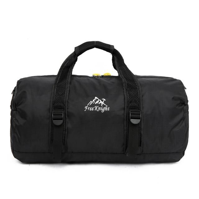 Unisex 210 Waterproof Nylon Large Capacity Ultralight Foldable Outdoor Gym Bag Sports Bags Travel Duffle Bags
