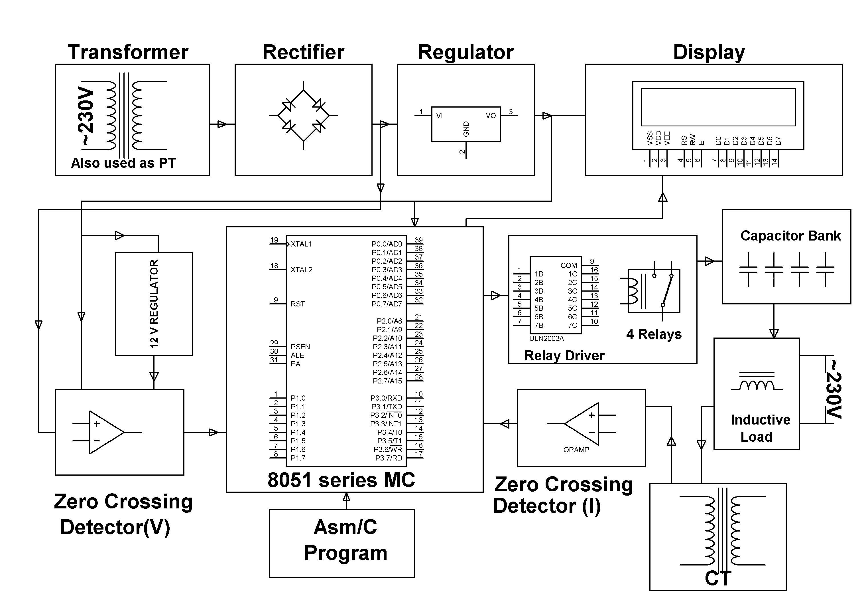 The Project Is Designed To Minimize Penalty For Industrial Units By Electronic Kit Ultrasonic Mosquito Repeller Circuit Projects Using Automatic Power Factor Correction Unit Defined As Ratio Of