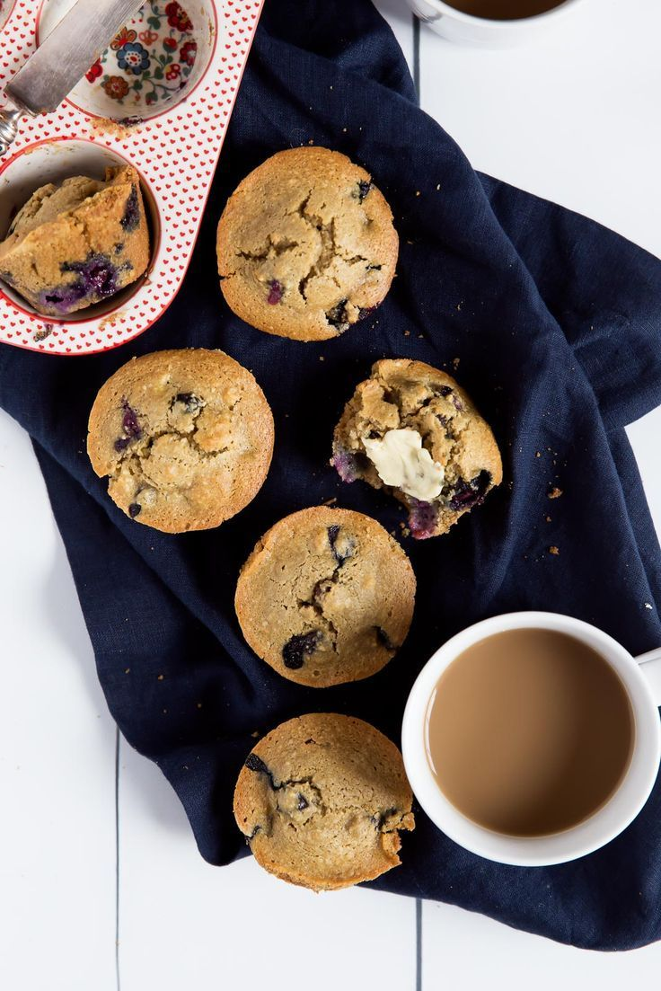 The Best Healthy Blueberry Oatmeal Muffins (gluten free