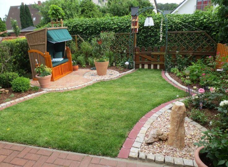 Bildergebnis für garten reihenhaus gestalten Garten