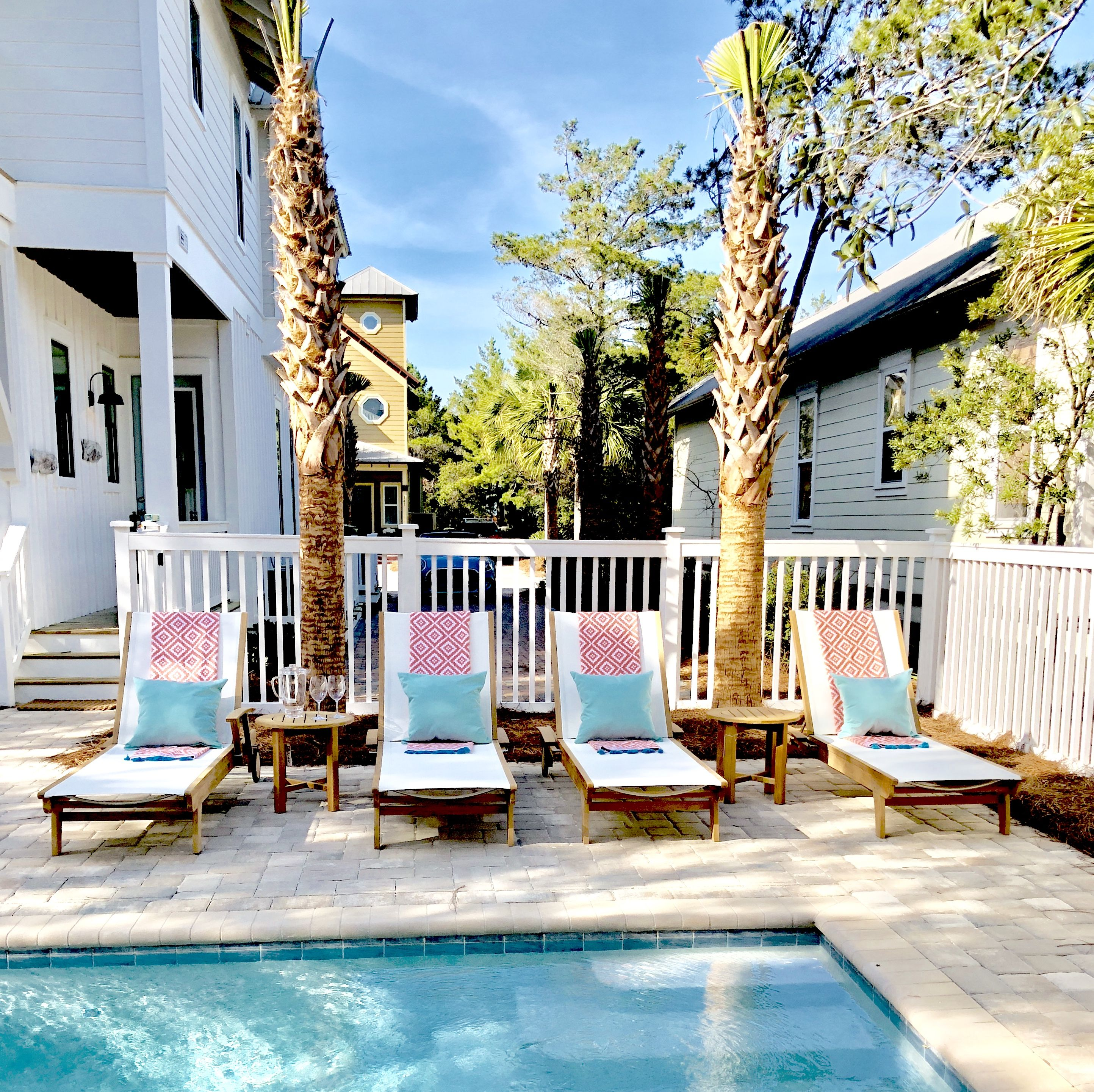 Pool envy Outdoor chairs, Porch swing, Outdoor
